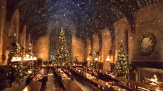 สุดเซอร์ไพรส์ ฮอกวอตส์เปิดบ้าน ชวนแฟนคลับทานอาหารค่ำคริสต์มาสนี้