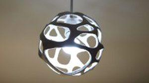 DIY โคมไฟเก๋ๆ จากดินญี่ปุ่น