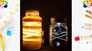 วิธีทำ D.I.Y โคมไฟ จาก โหลแก้ว เปลี่ยนของหลักสิบ ให้สวยหลักร้อย!