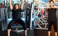 กล้ามไหล่ ฟิตเนส ด้วย Shoulder Press และ Barbell Front