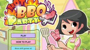 เกมส์ทำอาหารบาบีคิว Hot BBQ Party