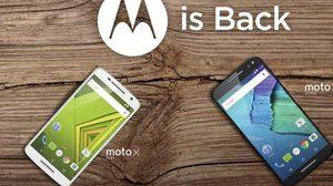 Moto กลับมาแล้ว เปิดตัว 3 รุ่นรวด พร้อม สมาร์ทวอท์ช