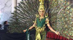 เทียน อัจฉรี ได้รางวัลเหรียญทอง ชุดประจำชาติยอดเยี่ยม Miss Earth 2016