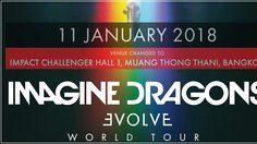 ด่วน! บีอีซีฯ ประกาศย้ายสถานที่จัดคอนเสิร์ต Imagine Dragons