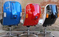 เจ๋งจริงอะ เก้าอี้ Vespa เก้าอี้ทำงานแห่งความฮิปและเก๋าเกมส์