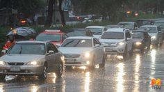 ทั่วไทยยังมีฝนฟ้าคะนอง ตกหนักบางแห่ง กทม. 60% ของพื้นที่