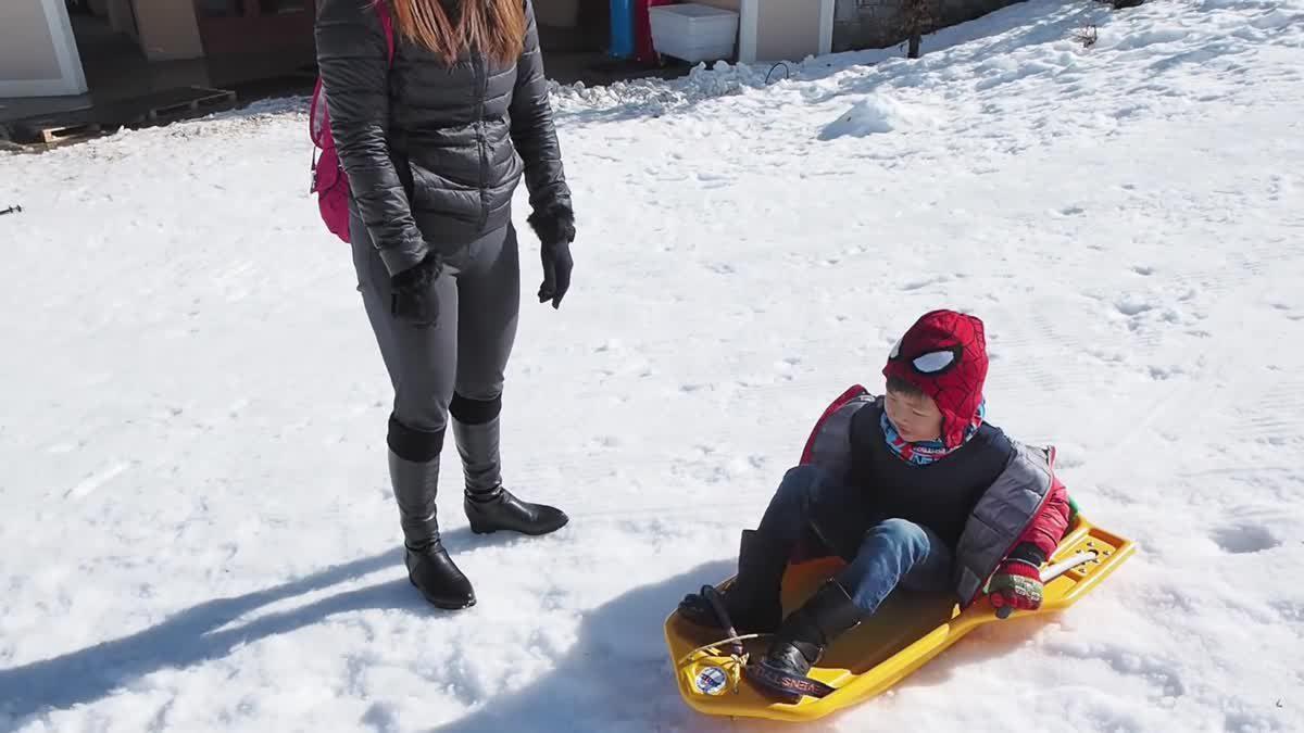 น้องกาย เล่นหิมะซิ่ง (มีกลิ้งลงเขา!) Club Med Valmorel