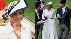 ดัชเชสเมแกน เหมาไอเทม Givenchy คอมพลีทลุคโก้ ร่วมงาน Royal Ascot ครั้งแรก