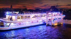 ล่อง เรือสำราญ The Vertical Cruise ชมวิวเจ้าพระยา เต็มอิ่มกับนานาบุฟเฟ่ต์