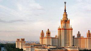 มหาวิทยาลัยมอสโก อาคารเรียนสูงที่สุดในโลก ประเทศรัสเซีย