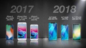 ใหญ่ได้อีก!! iPhone ปี 2018 จะมาด้วยกัน 3 รุ่น พร้อมจอที่ใหญ่เต็มขอบถึง 6.5 นิ้ว