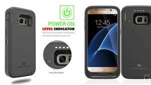 Samsung Galaxy S7 Battery Case แบตเตอรี่หมดจะไม่ใช่ปัญหาของคุณอีกต่อไป