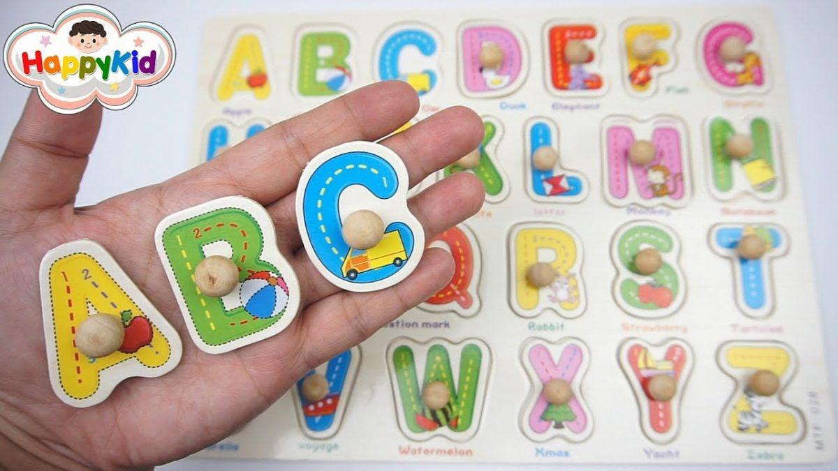 เล่นตัวต่อ ABC | จิ๊กซอว์ A-Z | เรียนรู้ ABC | Learn The Alphabet