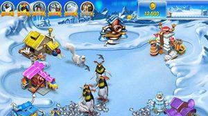 เกมส์ทำฟาร์มขั้วโลกเหนือ Farm Frenzy 3 Ice Age