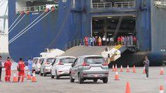 Mitsubishi Motors เริ่มการส่งออก Mitsubishi XPANDER จาก อินโดนีเซีย