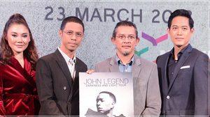 หนึ่ง จักรวาล-ตู่-ปนัดดา เรียกน้ำย่อย ก่อนพบ JOHN LEGEND ตัวจริงที่เมืองไทย 23 มี.ค. 2561