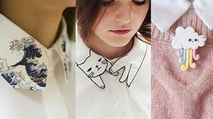 30 แฟชั่น 'ปกเสื้อเชิ้ต' ผู้หญิง ลายน่ารักมุ้งมิ้ง จนต้องสอย!!