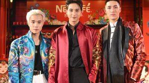 """เจมส์จิ – ต่อ เปิดตัว """"เนสกาแฟ เบลนด์ แอนด์ บรู อินเตอร์แอคทีฟ อาร์ตสเตชั่น ครั้งแรกในไทยที่สถานีวัดมังกร"""""""