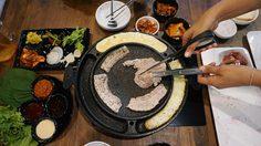 อาหารเกาหลี Saranghae (ซารางแฮ) ต้นตำรับปิ้งย่าง จุ่มชีส @Habito Mall