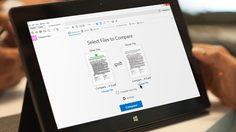 Adobe ออกฟีเจอร์ใหม่ใน Acrobat DC เครื่องมือเปรียบเทียบไฟล์