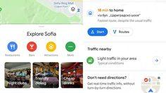 Google Maps อัพเดตดีไซน์ใหม่ Material Design และลูกเล่นใหม่