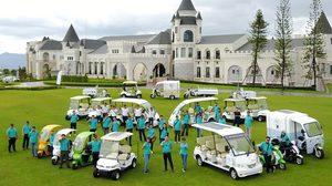 """ฝีมือคนไทย """"SEV"""" รถกอล์ฟไฟฟ้าพลังงานแสงอาทิตย์ และ """"STC"""" รถสามล้อฟู๊ด ทรัค พลังงานแสงอาทิตย์"""