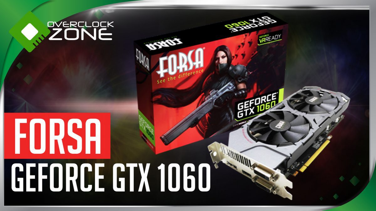 รีวิว FORSA GTX1060 3GB : Graphic Card
