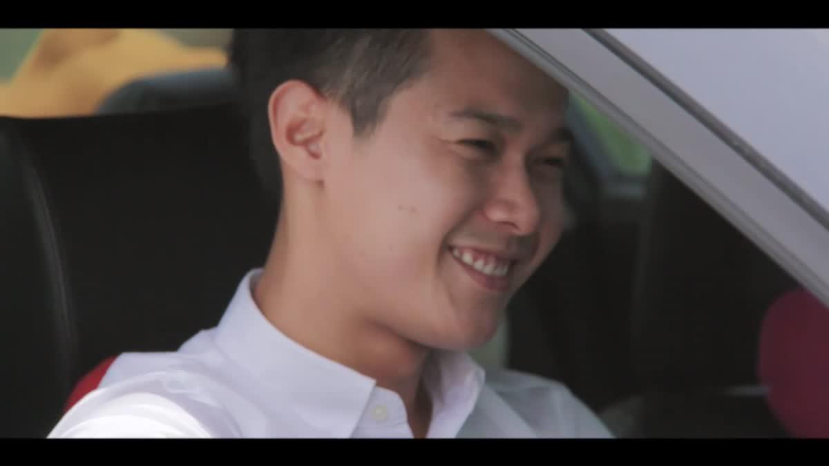 ความเป็นไทยสร้างวินัยจราจร The Series - Ep.1/12 ส่งยิ้ม