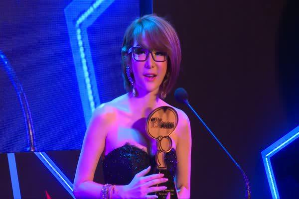 ประกาศรางวัล The most top talk about Sexy Star 2014