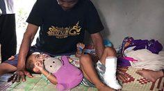 ตาวอนช่วยหลาน 2 ขวบ ถูกงูเห่ากัด เผย ฐานะยากจนอดมื้อกินมื้อ