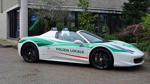 โหดไปไหมพี่! … เมื่อกรมตำรวจของอิตาลีแปลงโฉม Ferrari 458 Spider ของมาเฟียเก่า มาเป็นรถตำรวจ