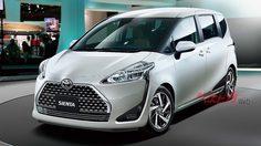 Toyota Sienta 2018 (facelift) รุ่นปรับโฉม เตรียมเปิดตัวที่ญี่ปุ่นเดือนนี้