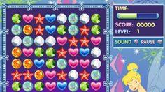 เกมส์จับคู่เพชร Tinkerbell's Jewel Jumble