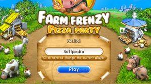 เกมส์ทำฟาร์ม Farm Frenzy – Pizza Party