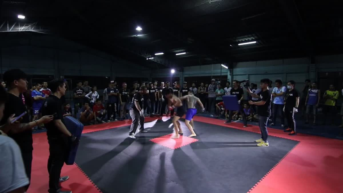 Fight Club Thailand ใต้ดิน เอ็ดดี้ แฟรงเกน x เบด คู่ที่ 119