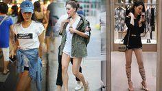 3 สาวสายสตรอง กับ แฟชั่นขาสั้น มาดูกล้ามขาใครสวยกว่ากัน