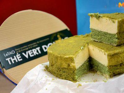 The Vert Double ชีสเค้กรสชาเขียวเต็มๆ คำจาก LeTAO