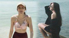 30 แล้วไง? โฟร์ อวดหน้าใสหุ่นแซ่บท้าลมร้อนกลางทะเล!