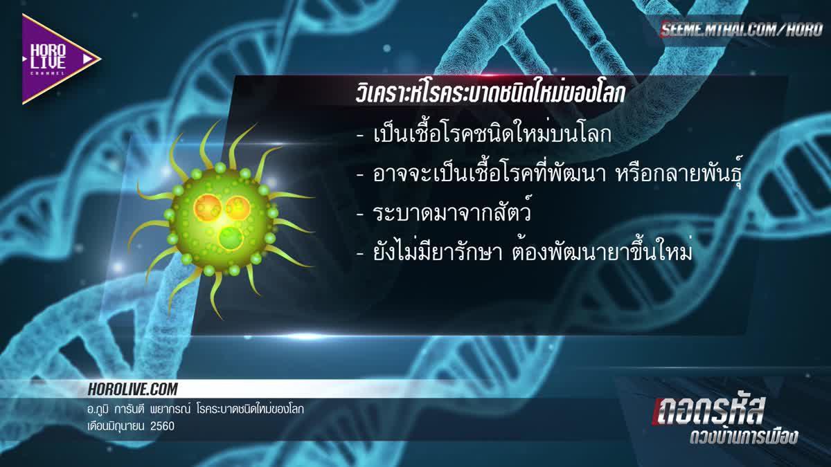 เฝ้าระวัง!!! โรคระบาดสายพันธุ์ใหม่ อาจถือกำเนิดขึ้นบนโลก