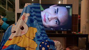 สาวฟิน! มโนเอาผ้าห่ม TV ประหนึ่งได้นอนกับคุณพี่หมื่น