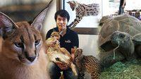 อาทิตย์ สามัตถิยดีกุล เปิดอาณาจักรสัตว์แปลกหายากมูลค่ากว่า 20 ล้าน!!