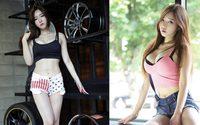 Lee Hwa Ri สาวเกาหลี น่ารัก หวานใส กับไฟคู่หน้าที่ชัดเจน