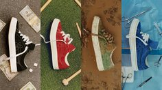 Tyler The Creator x Converse เปิดตัว GOLF le FLEUR Mono Collection