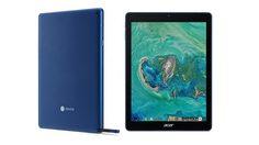 แท็บเล็ต Chrome OS ตัวแรกเปิดตัวแล้วในชื่อ Acer Chromebook Tab 10