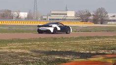 เปิดคลิปตัวละครลับ Ferrari ตัว Prototype ขณะวิ่งทดสอบใน Tarck ของทางค่ายในอิตาลี