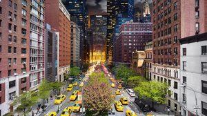 ภาพถ่าย 24 ชั่วโมงที่เปลี่ยนไปในรูปภาพเดียว จากช่วงเวลา กลางวันถึงกลางคืน