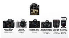 Canon ยกทัพ 6 ผลิตภัณฑ์ คว้ารางวัลยอดเยี่ยมแห่งปี TIPA World Awards 2018