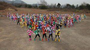 สุดอลังการ 200 Super Sentai รวมพลังกับ 40 Riders