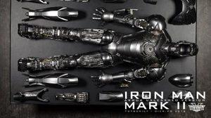 Hot toys Iron Man 2 – Mark II (Armor Unleashed Version)