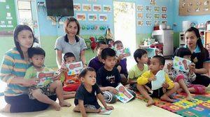 ครูสอนเด็กพิเศษ ชวนบริจาค หาเงินติดมุ้งลวดให้โรงรียนอนุบาลแม่สะเรียง